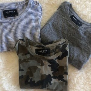 PacSun tees bundle (3)